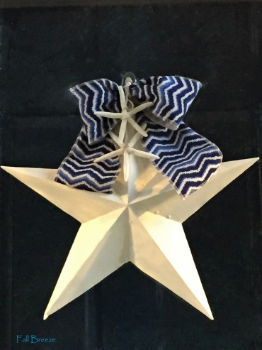 Fall Breeze Front Door Star for 4th of July and Summer