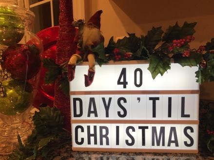 fallbreeze 40 days of Christmas